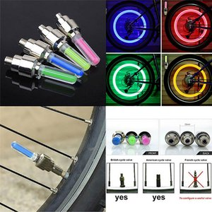 Hot Sale 10Pcs Motion Sensors Safety High Bright Bike Car Tire Neon LED Flash Light Lamp Universal Tyre Wheel Valve Sealing Caps