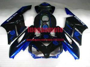 ABS Black Blue fairings kit for HONDA cbr1000rr fairing kits 2004 2005 2006 2007 fairing high grade CBR 1000 RR 04 05 06 07