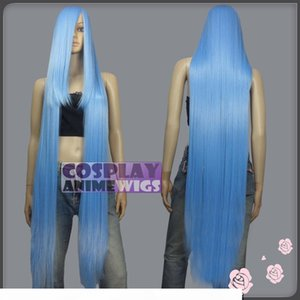 130cm Baby Blue Hi_Temp Series 55cm Extra long Bang Cosplay Wigs 99_4134