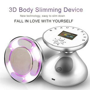 RF Cavitation Fat Burner Ultrasound LED Anti Cellulite Lipo Device Skin Rejuvenation For Weight Fat Loss Face Body Slimming Massager