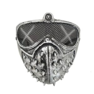Mask Grim Masquerade Punk diable Cosplay mort Masques Halloween Reaper Rivet Xhlight Trlpr