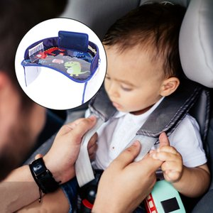 1Pcs Vehicle Child Seat Tray Portable Car Seat Stroller Home Baby Buggy Safety Chair Tray Car Child Toy Drink Holder