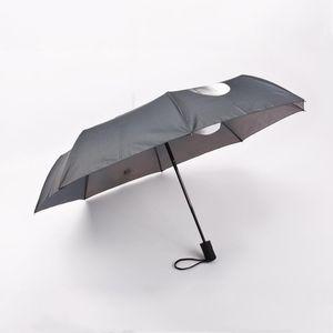 Воздействие 3 Зонтик Finger 3 Зонт Прохладный Мужчины Средний Зонт Fold Umbrella дождь Женщины Творческий Fold OAEeS network2010