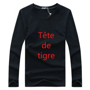 Men's Brands letters T Shirt man Tops Casual Tee Shirt just do thin long Sleeve Hoodie sweater Sweatshirt Asian Size XS-4XL Spring