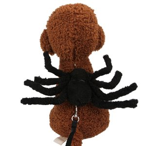 Yukarı Parti Noel Halloween1 Giyinme Kedi Köpek Örümcek Rol Play Pet Köpek Tasmalar Köpekler Giyim Örümcek Cosplay Köpek Göğüs Kemeri