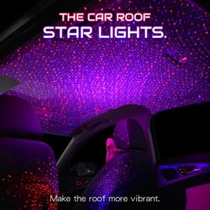 e90 E46 araba atmosfer lamba iç ortam yıldız ışığı araba atmosfer ışık LED Çatı Yıldız Night Lights Projektör
