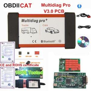 2020.1 newest TCS Multidiag Pro Bluetooth v3.0 pcb 2020.1 + Keygen COBDIICAT-TCS 5V NEC Relay OBD2 Diagnostic Scanner Tool