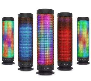 المتحدثون NEW بلوتوث LED M10 اللاسلكية أيدي محمول المتكلم مكبر الصوت ستيريو هاي فاي لاعب لاسلكية سماعات مضخم