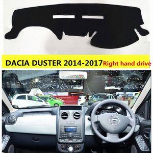 Tablero de instrumentos de protección de automóviles de AIJS para Dacia Duster 2014 2017 Mano derecha Drive Drive Auto Tablero de control de la alfombra para Dacia Duster 14 17 Rubber D FY7V #