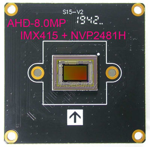 """8 MP AHD-8.0MP @ 15 fps, 1 / 2.8"""" sensor de imagem CMOS Sony IMX415 + NVP2481 CCTV placa do módulo de câmara PCB (partes opcionais)"""