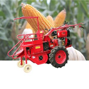 Satılık Single Row Corn Harvester / Mısır Orak Makinası Driven LEWIAO El itin Dizel Benzinli Motor