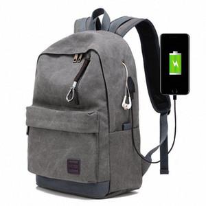 Мужского Бизнес Labtop Плечи сумка пакет Многофункциональный USB зарядка Рюкзак Рюкзак Мужского отдых и путешествия Рюкзак Сумки CUx5 #