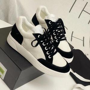 venta caliente de los zapatos ocasionales Comfort mujeres y hombres zapatillas de deporte de los zapatos de cuero ocasionales del tamaño mujeres de los hombres zapatillas de deporte 35-45 kjl01