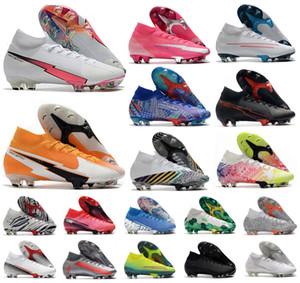 2020 Mercurial Superfly VII 7 360 Elite SE FG Rosa Pantera Sancho CR7 Ronaldo Neymar Mens dei ragazzi scarpe da calcio Scarpe da calcio tacchetti US3-11