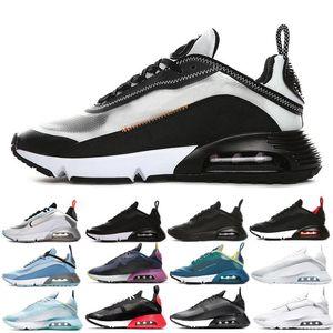 Baratos 2090 para hombre de los zapatos corrientes de la marina de guerra Magenta Negro antracita gris Lobo Praia Grande Aurora verde Magma Orange década de 2090 hombres mujeres las zapatillas de deporte