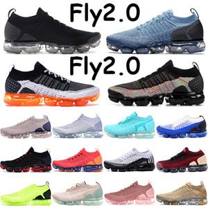 sneakers voam 2,0 tênis preto multi-color soco quente branca difusa taupe manga creme claro subiu lua ouro piloto dos homens azuis de malha
