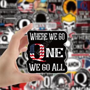 50pcs Donald Trump 2020 adesivos de carro do poster da bandeira adesivos mantenha tornar a América Grandes decalques para Skatebroad Suitcase Veículo Paster D91705