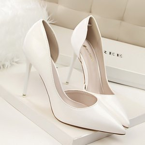 Women Summer Shoes T-stage Fashion Dancing High Heel Sandals Sexy Stiletto Party Wedding Shoes White Black N32662