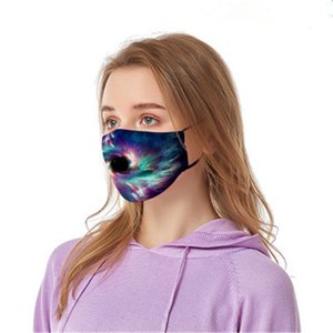 Máscaras Mout Camo Wasable Elastic Mascerine Imprimir Dener Impresso 2 Layer Mask Earloop Poeira Filtrition Fa para o Homem Mulher Llfa # 432 # 304