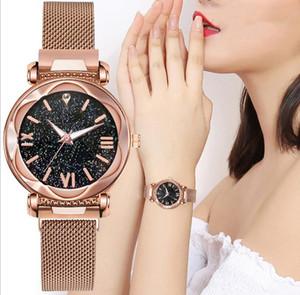 New wholesale women's Star quartz watch lazy watch magnet strap magnet Watch