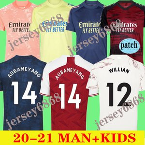 barato local nueva camiseta de fútbol 20 21 Pepe Arsen Willian jerseys del fútbol SUPERIOR 2020 2021 CASA FUERA hombres camiseta de fútbol camisas de calidad de Tailandia