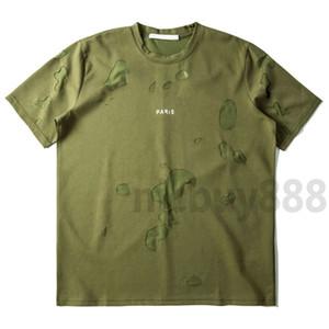 2020 Designer Vêtements de luxe Mens d'été Géométrie Print T-shirt Patchwork Lettre Imprimer Tshirt Tee T-shirts T-shirts T-shirt Tops Tee
