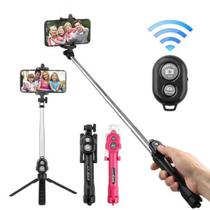Bluetooth Selfie Stick Remote Control Tripod Mobile Phone Real-time Photo Stand Tripod Camera Selfie Artifact Stick