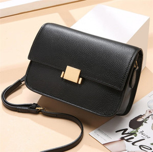 new product female bag trend retro simple first layer cowhide messenger bag casual designer small square bag free shipping 2020