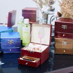 اليدوية ورقة الموسيقى مربع مربع والمجوهرات هدية الكرتون والتغليف الموسيقى طباعة الإبداعية هدية عيد ميلاد اقتراح عيد الميلاد