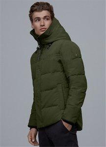 2020New 캐나다 겨울 다운 파카 남성 브랜드 디자이너 겨울 높은 품질 북풍 90 % 화이트 벨벳 다운 자켓 야외 스포츠 다운 재킷