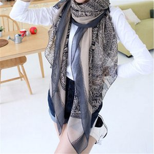New Fashion Trendy Bohemian Scarves Women's Long Print Scarf Wrap Ladies Shawl Girl Large Pretty Scarf Tole Styles 0624