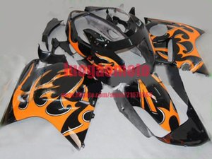 Moto INJECTION ABS kits carrosserie noir orange Carénage Kit carrosserie pour HONDA CBR 1100 XX CBR1100XX 06 05 04 1996-2007 03 02 96 97 98 + cadeau
