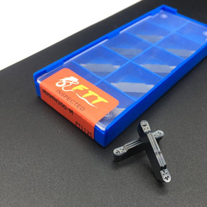고품질 10PCS MRMN300 M FT1125 그루 빙 초경 삽입 도구 CNC 금속 선반 도구 MRMN 그루 빙 삽입 켜기