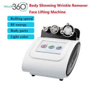 Newest rollrf360 massage and skin care lose weight transform V face RF PDT multi-functional beauty equipment