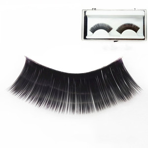 2020 New Style Fashion False Eyelashes Black Long Thick Stage Performance Party Beauty Makeup Essential Tools