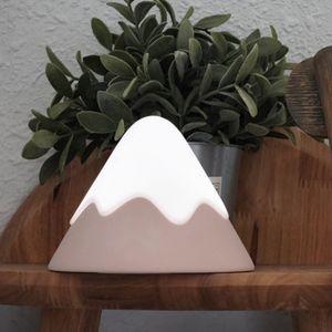 Snow mountain led Nightlight bedside induction light LED charging baby baby nursing eye care night lamp