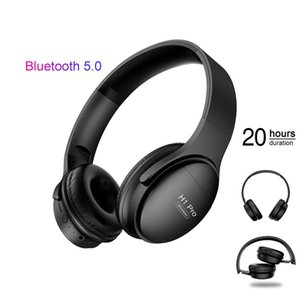 H1Pro Bluetooth 5.0 Headphones Wireless HIFI Stereo Gaming Headsets Over ear Noise Canceling with Mic Support TF Card for