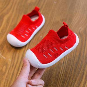 2020 Spring BabToddler Shoes Girl Boy Casual Breathable Mesh Shoes Soft Bottom Comfortable Non-slip Infant sneakers girl
