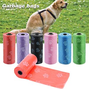 Biodegradable Pet Dog Poop Bag Zero Waste Dog Pooper Paw Earth-Friendly Doggy Litter Dispenser Pets Products For Dogs