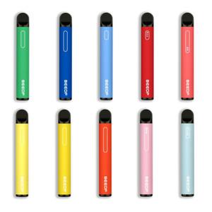 100% autentico originale Beedf Inoltre monouso Pod 3ml preriempite 800 Puff 550mAh Vape Pen Stick sistema 10 Opzioni