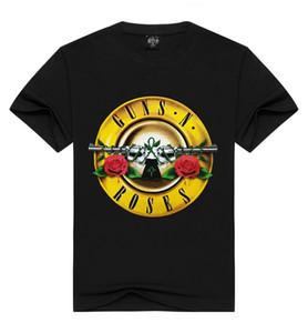 Vendita Guns and Roses Hot Mens T Shirt magliette O manica corta T Moda 3D stampati per l'estate libera il trasporto