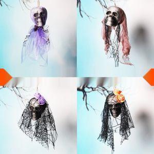 Хэллоуин скелет кулон двери висит висит бар торгового центра КТВ призрак фестиваль кулон украшение KTV украшения орнамент расположения про