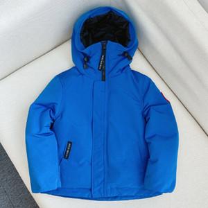 Enfants Manteau 2020 Automne Hiver Mode Enfant chaud Manteaux Veste Pour Garçons Filles 100-150 CM Manteau parka Dwq878