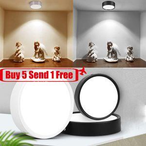 Downlight водить 220V Светодиодный прожектор Накладные потолка 5W 10W 15W вниз огни Крепеж Ultra Thin Внутреннее освещение для кухни