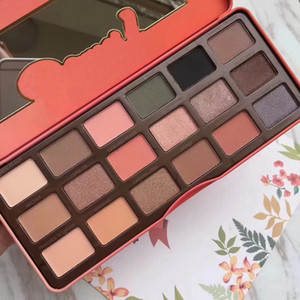 Free Shipping ePacke! new hight quality Makeup eye shadow palette Chocolate palette eyeshadow Too 18 colors Peach eyeshadow with Peach flavo