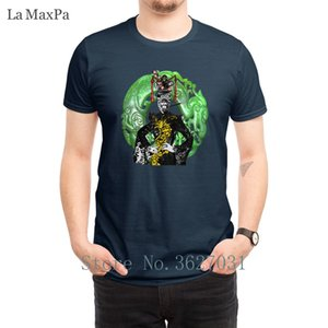 Madam Chang erkekler Aile Yaz Tee Gömlek Komik Yuvarlak Yaka Man Hip Hop için geri T Shirt Strikes Biçimsel Tişörtler Tasarım