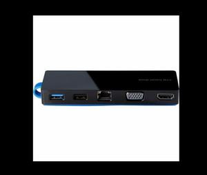 HP Travel Dock Tasche USB-C Laptop Dockingstation T0K29AA TPA-I501