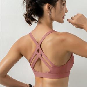 E-Baihui 2020 High-strength Shockproof Sports Underwear Women Gather To Shape The Outer Jacket Running Bra Yoga Vest WX14