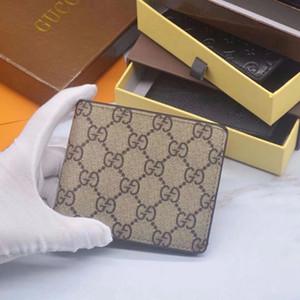 Gucci Pequeno cartão de crédito Passaporte Titular Coin Pouch Dinheiro couro clipe Mens Carteiras de carteira das mulheres bolsas Mulheres Bolsa Bolsas BAD12