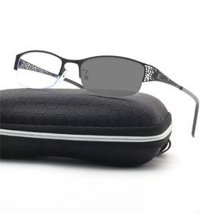 Progressivo Multifocal Vidros FotoChrômico Transição Photochrômico Sunglasses Reader Leitura Visão Far Homens para NX perto de Óculos Pontos Mulheres Nioba